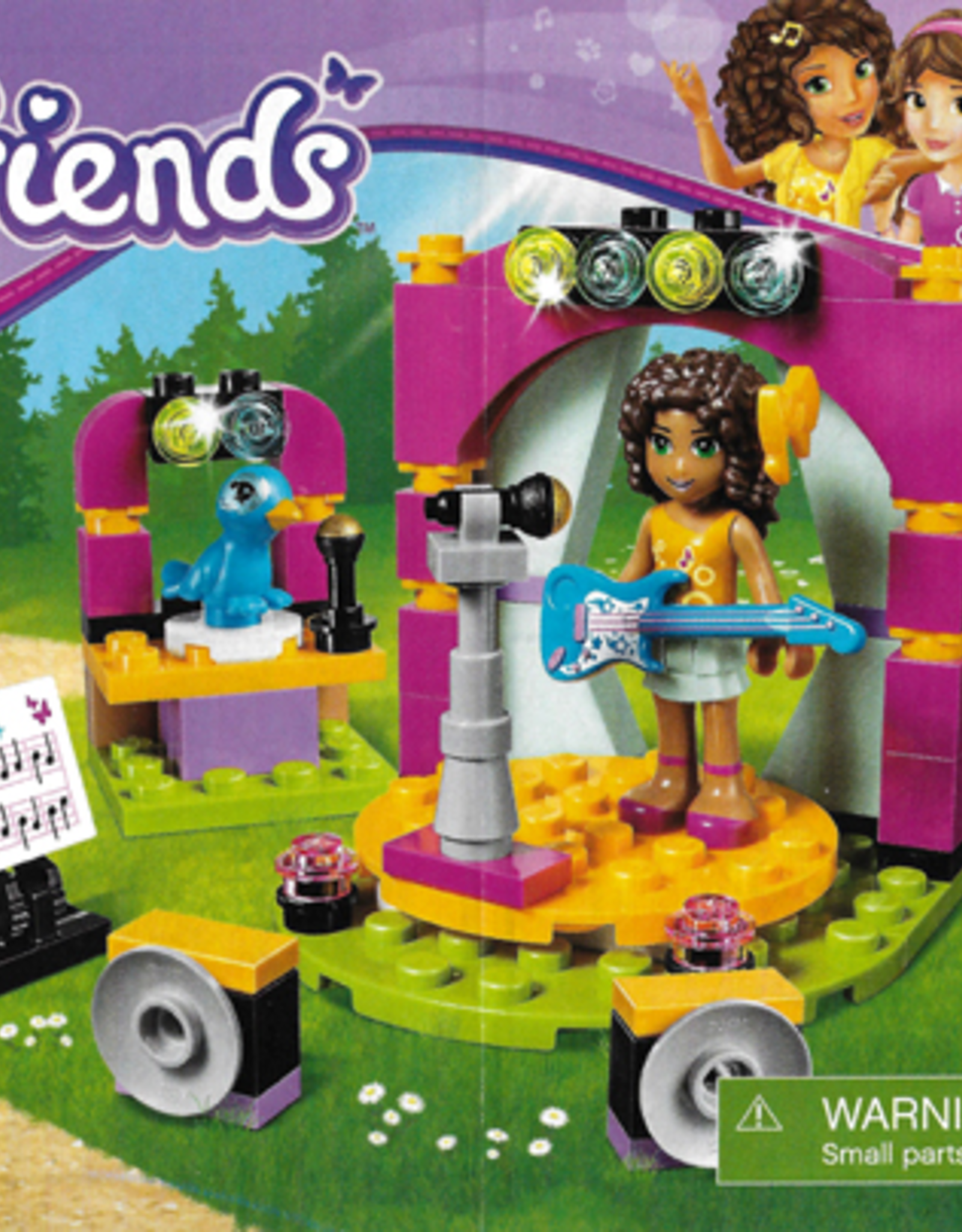 LEGO LEGO 41309 Andrea's Musical Duet FRIENDS