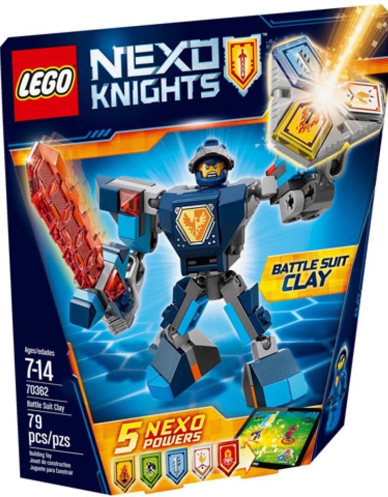 LEGO LEGO 70362 Battle Suit Clay NEXO KNIGHTS