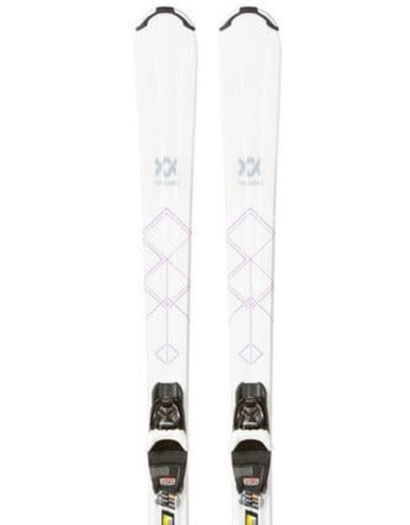 VOLKL Volkl ALESSIA WIT Ski's Gebruikt