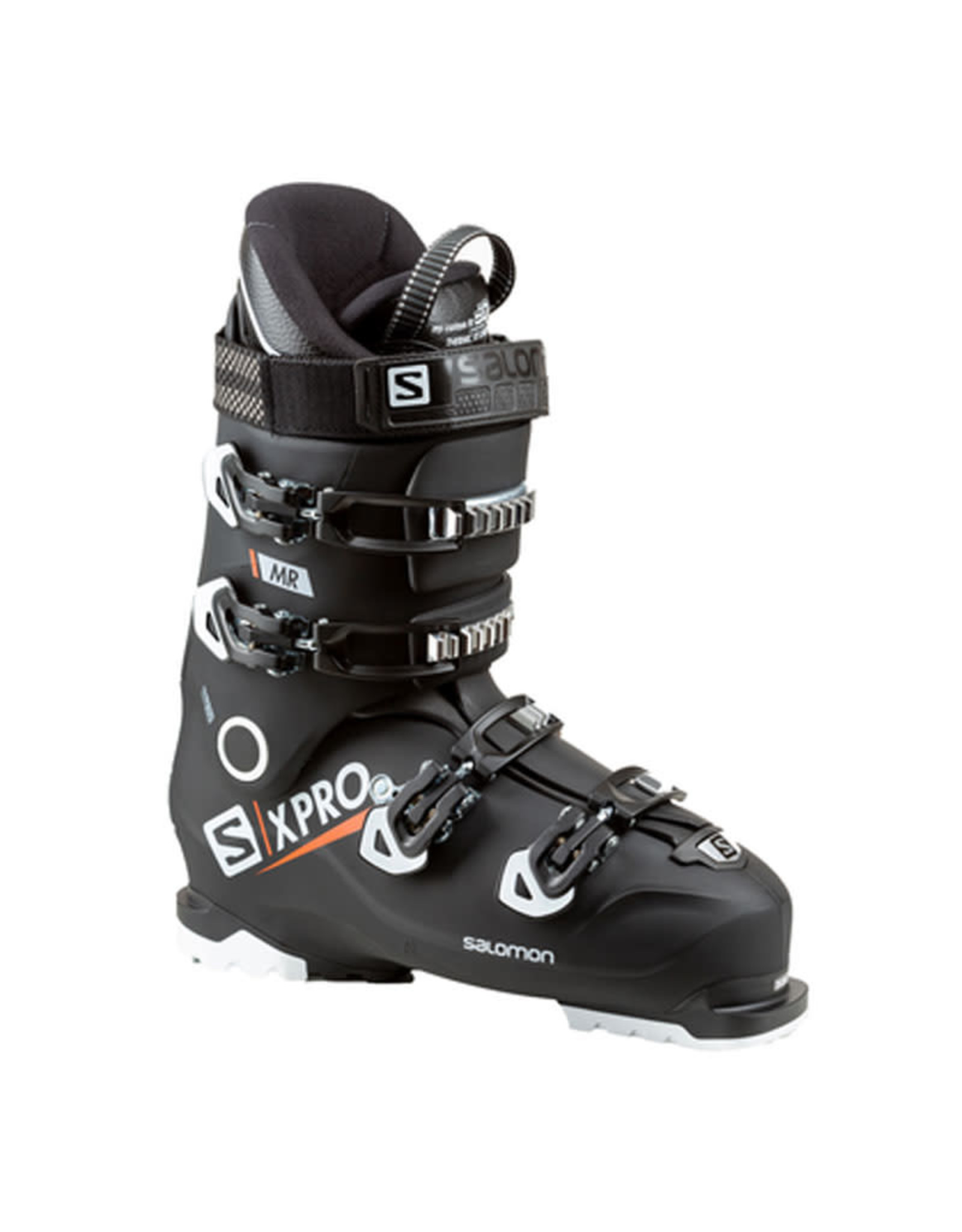 SALOMON Skischoenen SALOMON Xpro MR  Zw/wit/Oranje Gebruikt