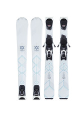 VOLKL Volkl Flair 73 WIT Ski's Gebruikt