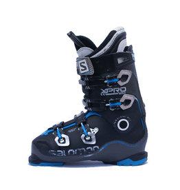 SALOMON Skischoenen Xpro 120 Zwart/Blauw Gebruikt