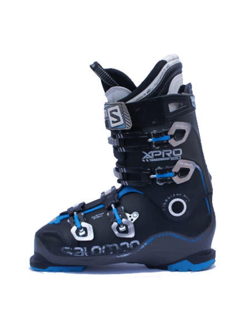 SALOMON Skischoenen Salomon Xpro 120 Zwart/Blauw Gebruikt