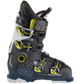 SALOMON Skischoenen Xpro 120 Zwart/wit/Blauw Gebruikt 43 (mondo 28)