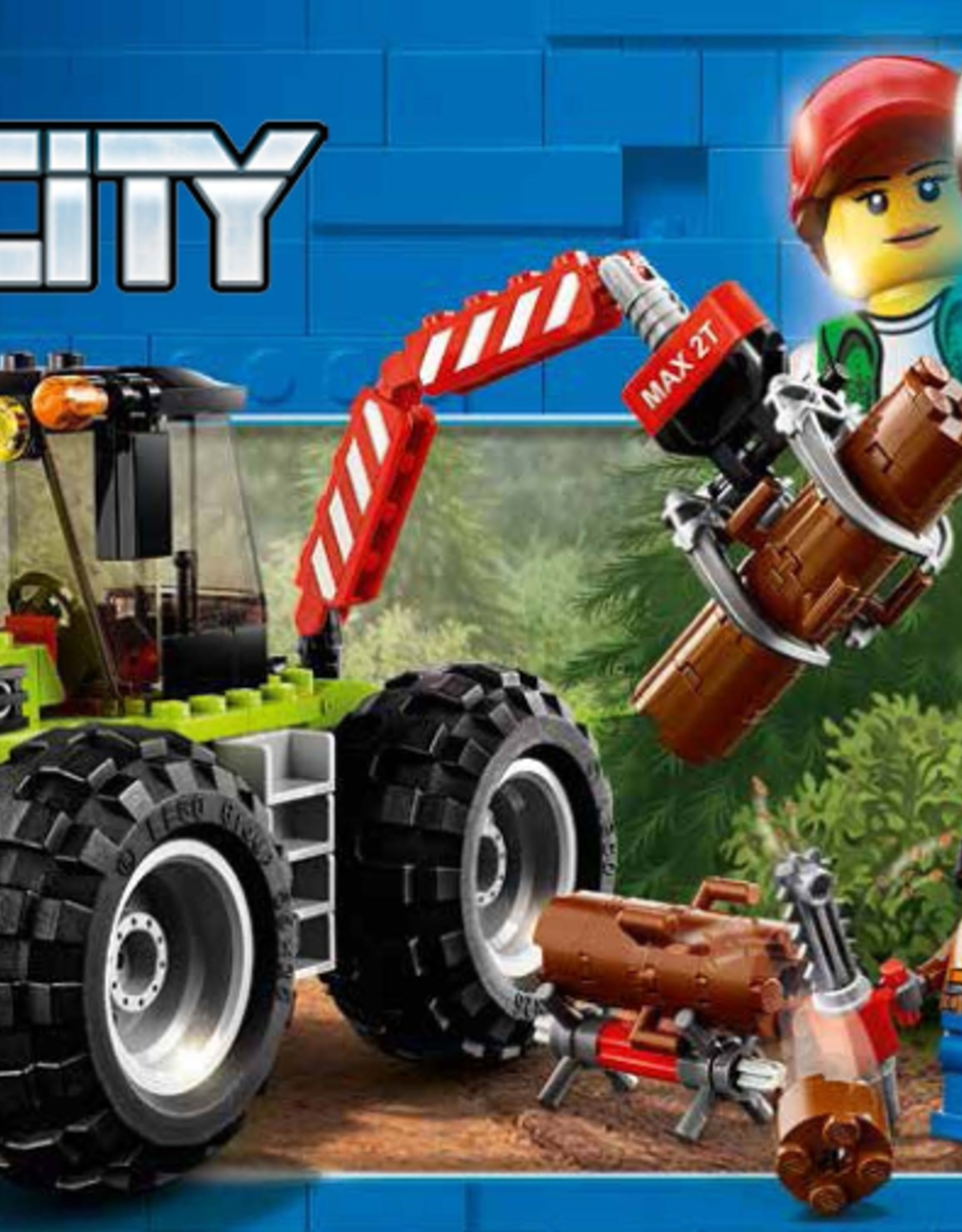 LEGO LEGO 60181 Forest Tractor CITY