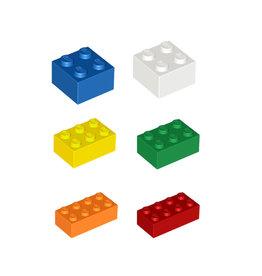 LEGO LEGO Blokken (hoog 2x2-2x3-2x4)