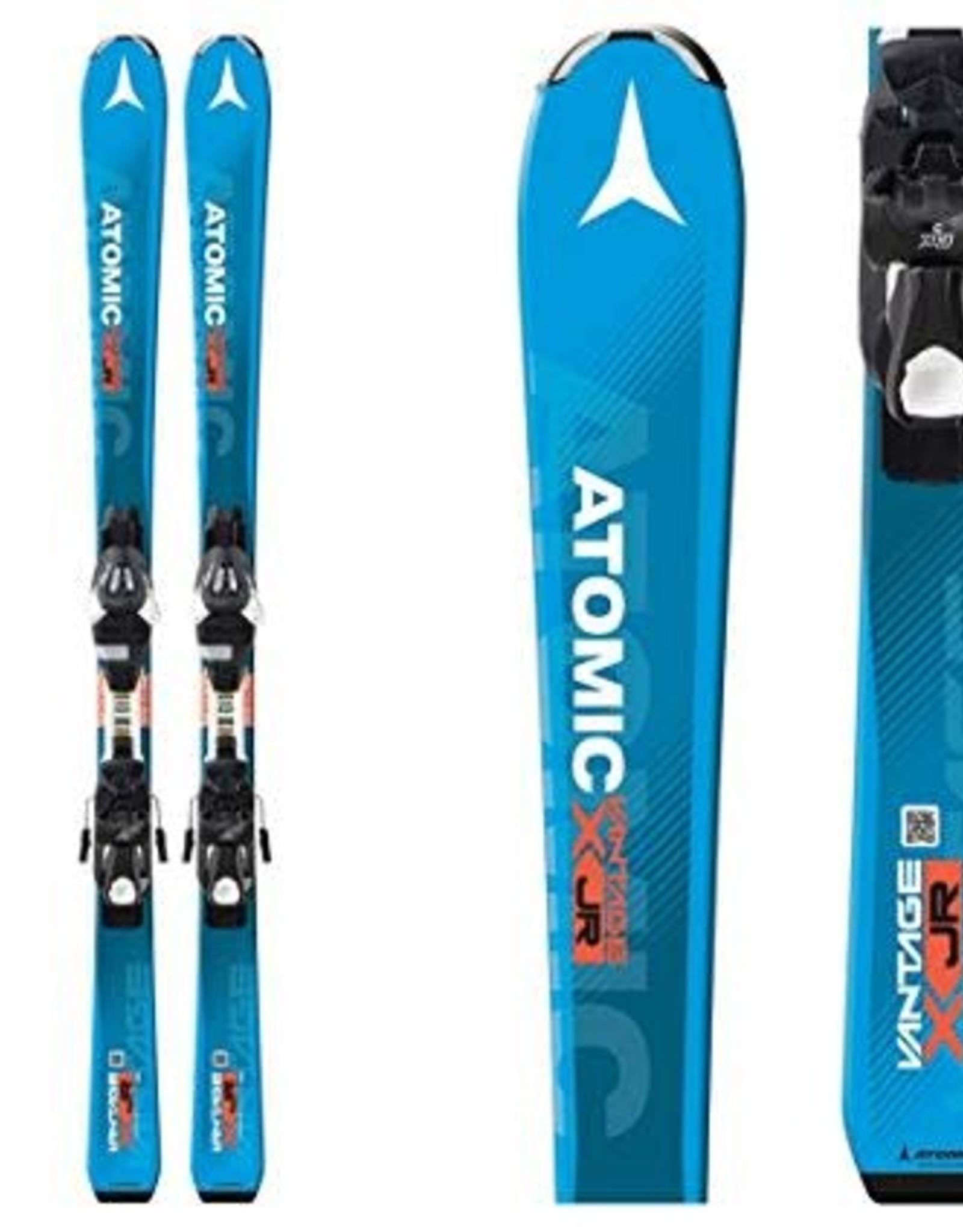 ATOMIC Atomic Vantage Jr Ski's Gebruikt Turqoise/Wit/Ora