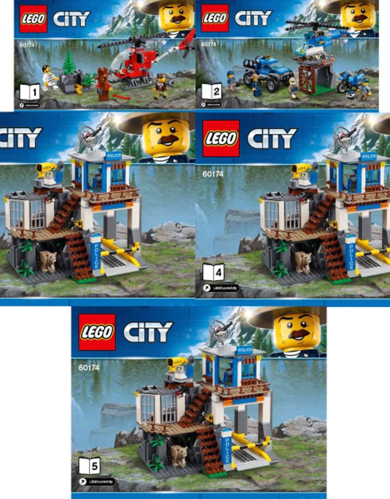 LEGO LEGO 60174 Mountain Police Headquarters CITY