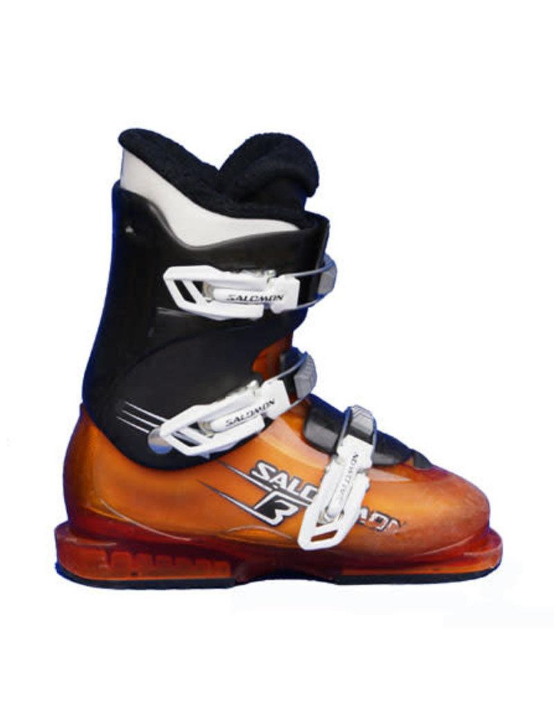 SALOMON Skischoenen SALOMON T3 (Oranje) Gebruikt
