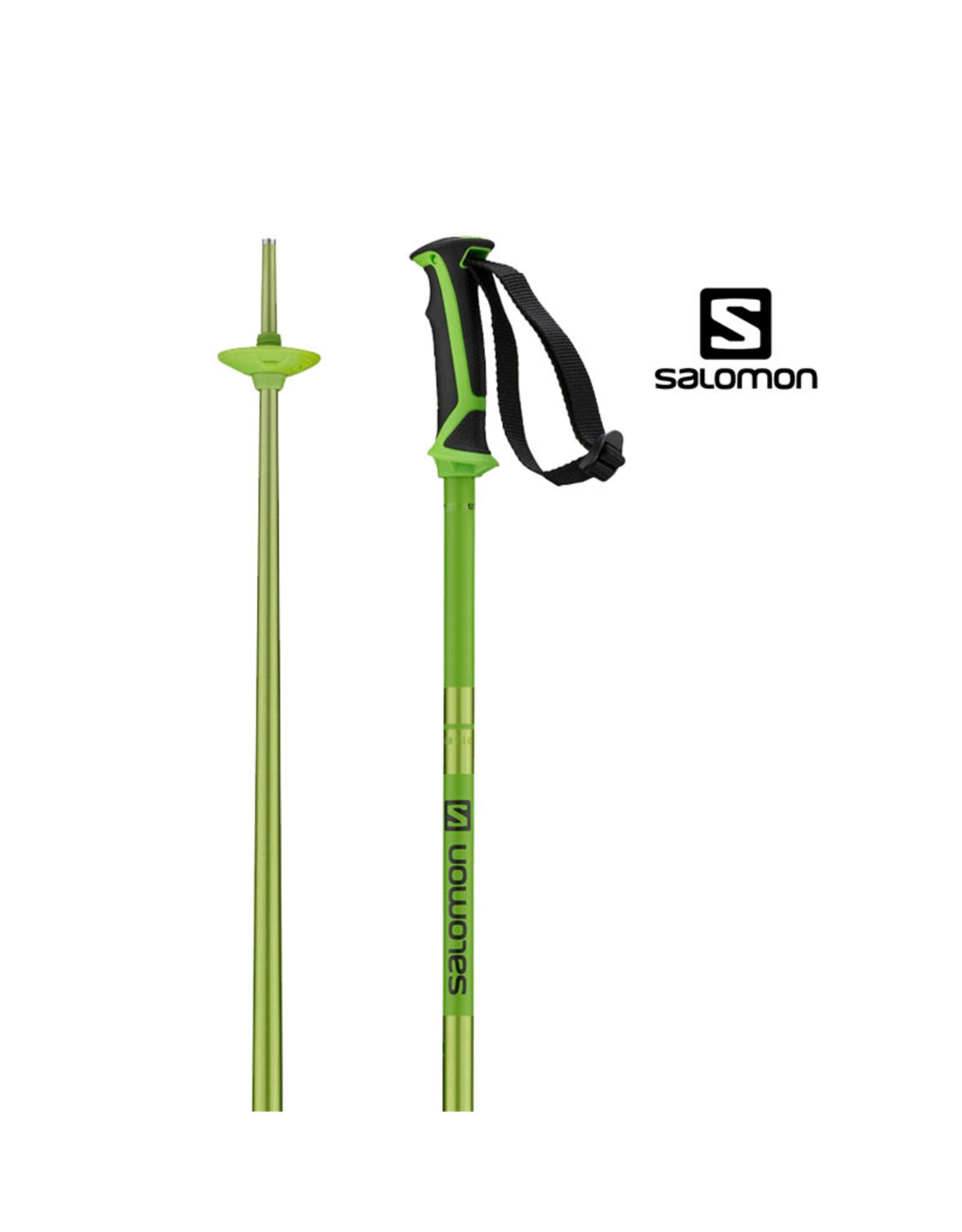 SALOMON SKISTOKKEN SALOMON Poles Arctic green