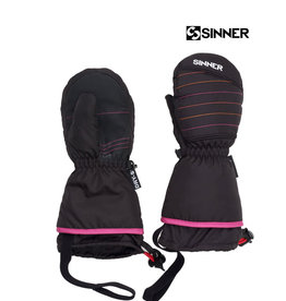 SINNER SINNER WANTEN STRATTON mitten Black (pink) Jr.