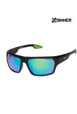 SINNER SINNER BLANC MT Black-Sintec Smoke Flash mir Zonnebril