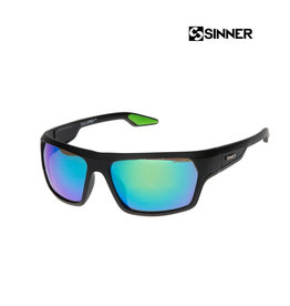 SINNER SINNER BLANC MT Black-Sintec Smoke Flash mir Zonnebril