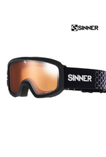 SINNER SKIBRIL SINNER DUCK MOUNTAIN Mat Black DBL Ora. Jr.