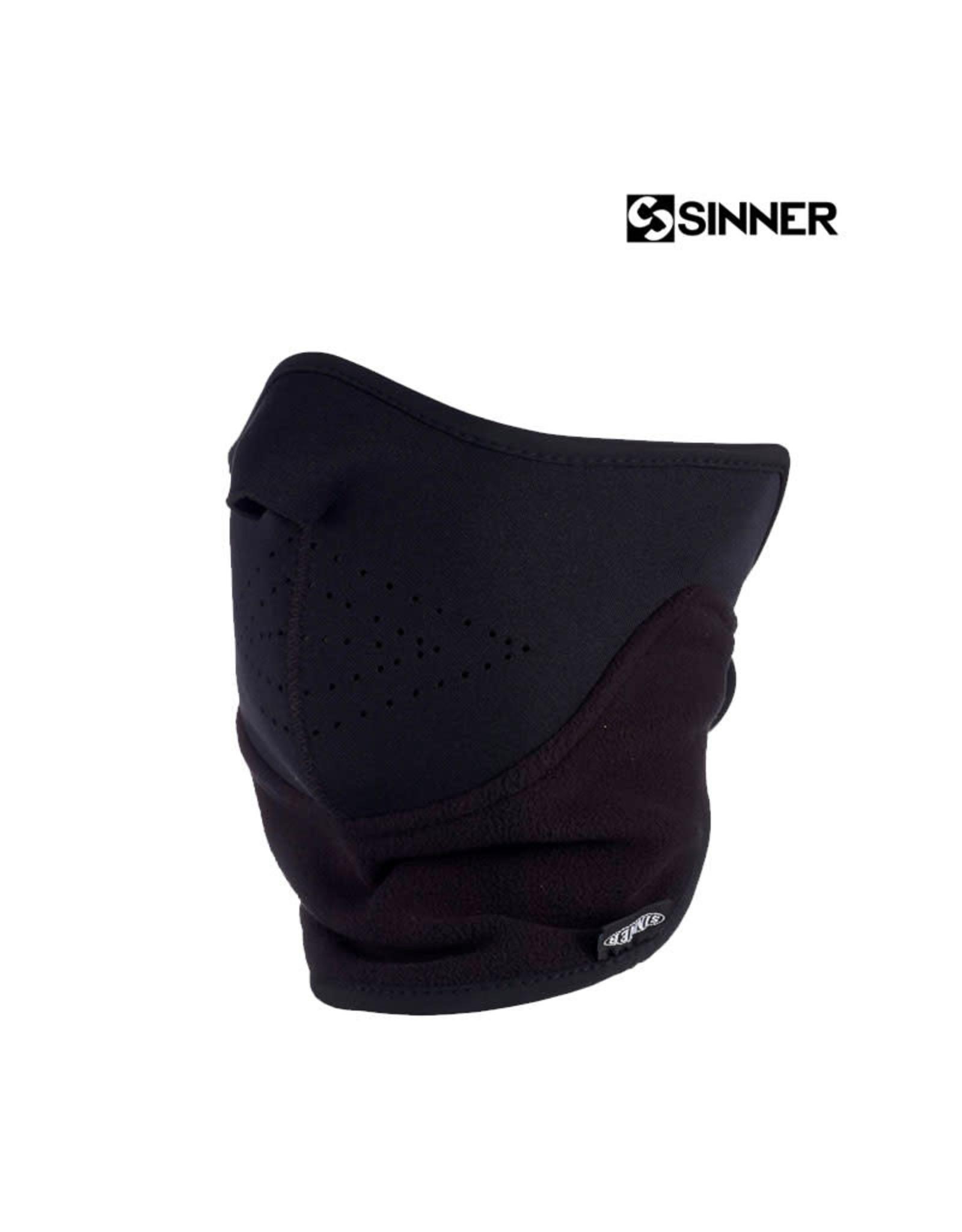 SINNER Face Mask Black Sz Uni