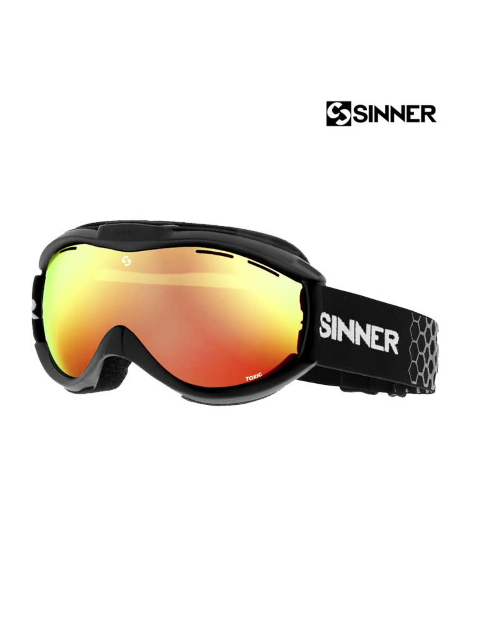 SINNER SKIBRIL SINNER Toxic Mat Black-DBL Orange