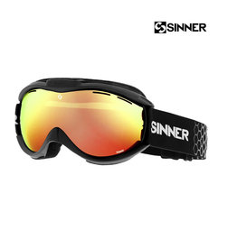 SINNER SKIBRIL SINNER Toxic Mat Black-DBL Orange