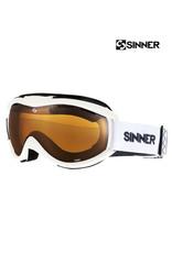SINNER SKIBRIL SINNER TOXIC Matte White + DBL Orange