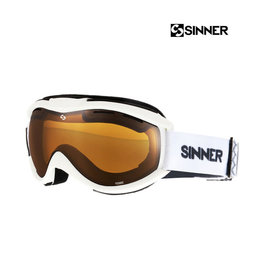 SINNER SKIBRIL SINNER TOXIC Matte White + DBL Orange