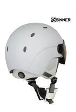 SINNER Helm Sinner Titan Visor Mat White