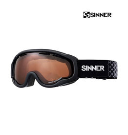 SINNER SKIBRIL SINNER FIERCE Matt Black-dbl orange sintec