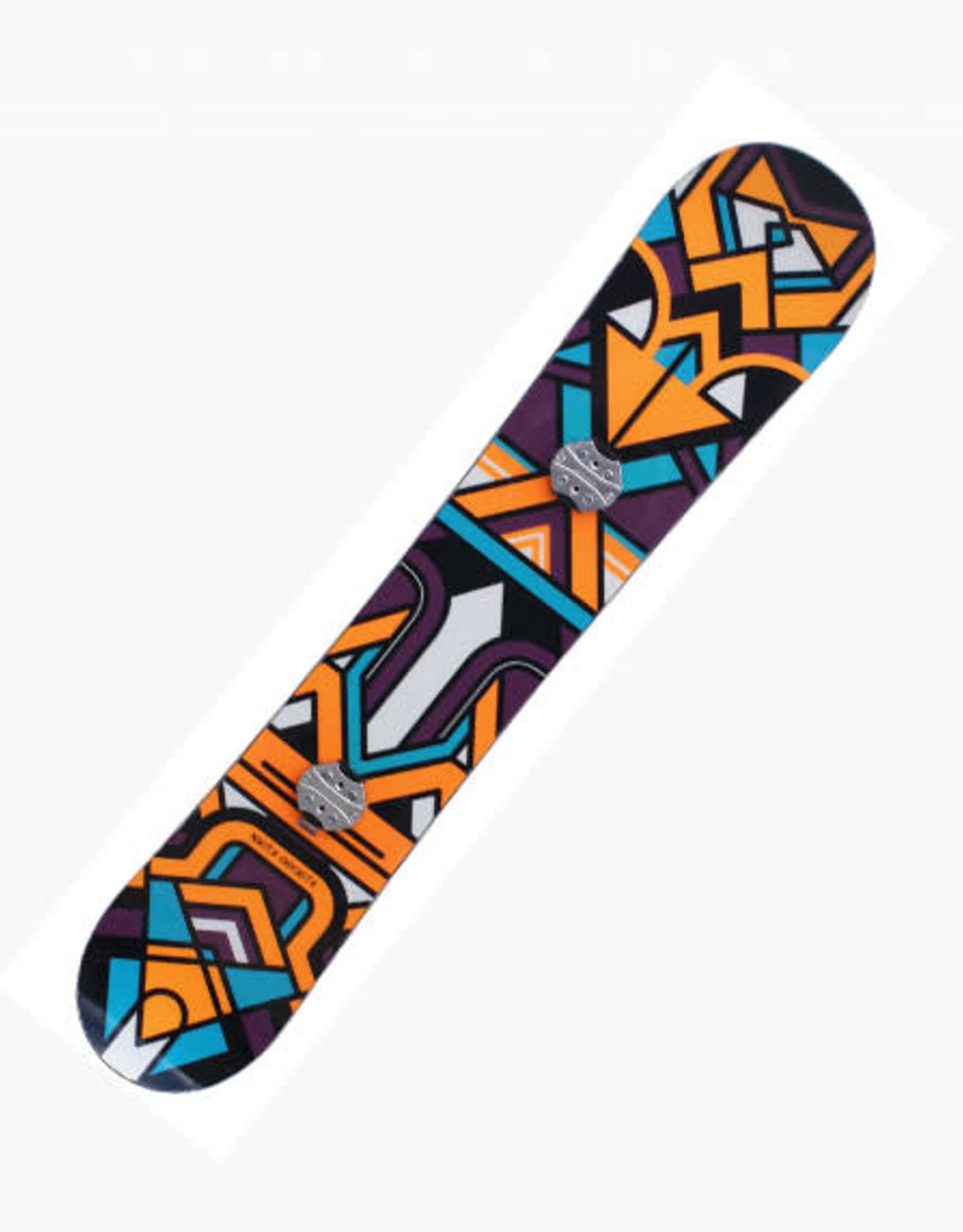 NIKITA Snowboard NIKITA Chickita Lengte 1.47m Paars/Oranje Gebruikt