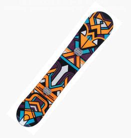 NIKITA Snowboard Chickita Lengte 1.47m Paars/Oranje Gebruikt