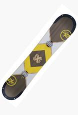 ROSSIGNOL Snowboard Rossignol Exp. Wide Lengte 1.55m Hout/wit/geel Gebruikt