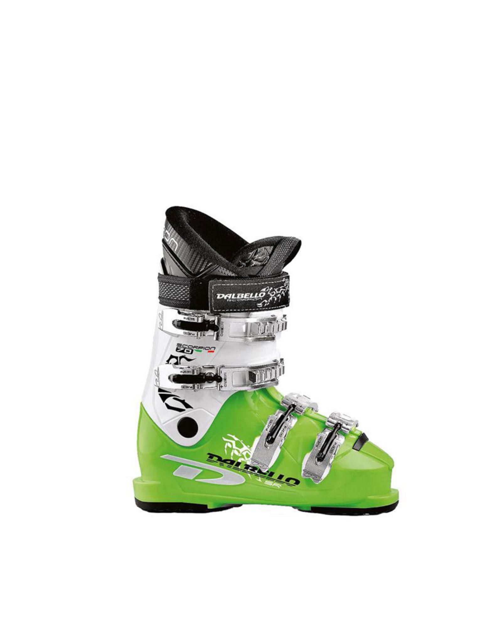 DALBELLO Skischoenen DALBELLO Scorpion 70 wit/groen Gebruikt mt 38