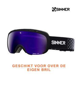 SINNER SKIBRIL SINNER MARBLE OTG Black- DBL Full blue Mirror