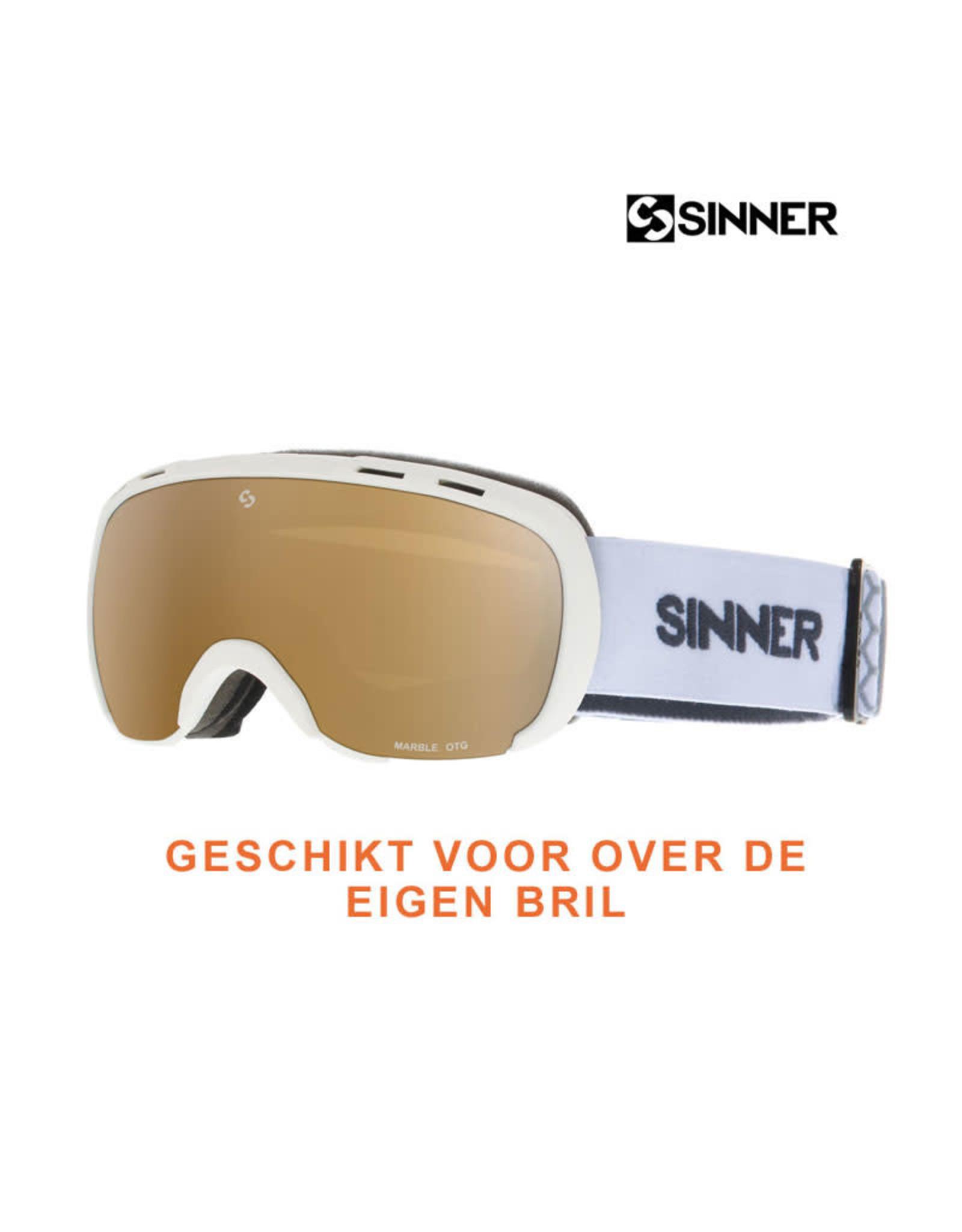 SINNER SKIBRIL SINNER MARBLE OTG White-DBL Gold Mirror