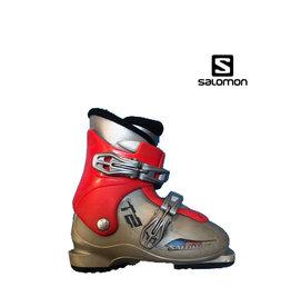 SALOMON Skischoenen T2 (grijs/Rood) Gebruikt