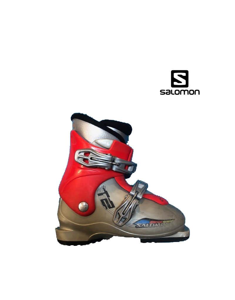 SALOMON Skischoenen SALOMON T2 (grijs/Rood) Gebruikt