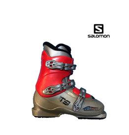SALOMON Skischoenen T3 (grijs/Rood) Gebruikt