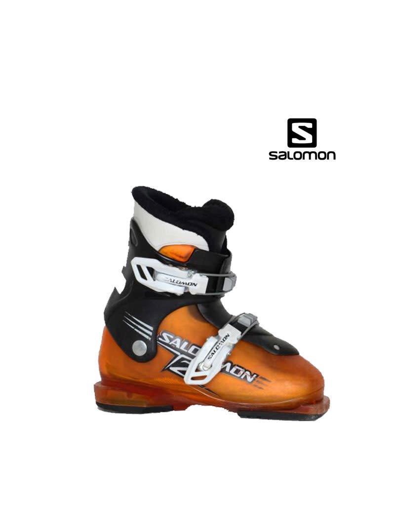 SALOMON Skischoenen SALOMON T2 (Oranje) Gebruikt