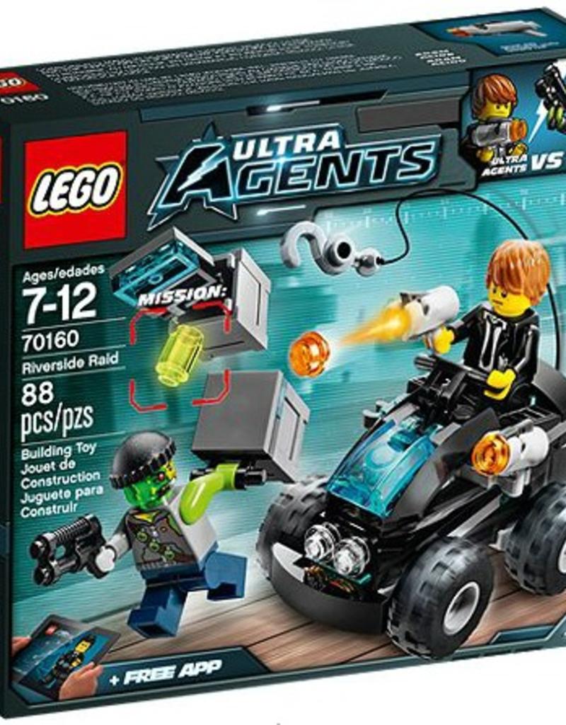 LEGO LEGO 70160 Riverside Raid ULTRA AGENTS