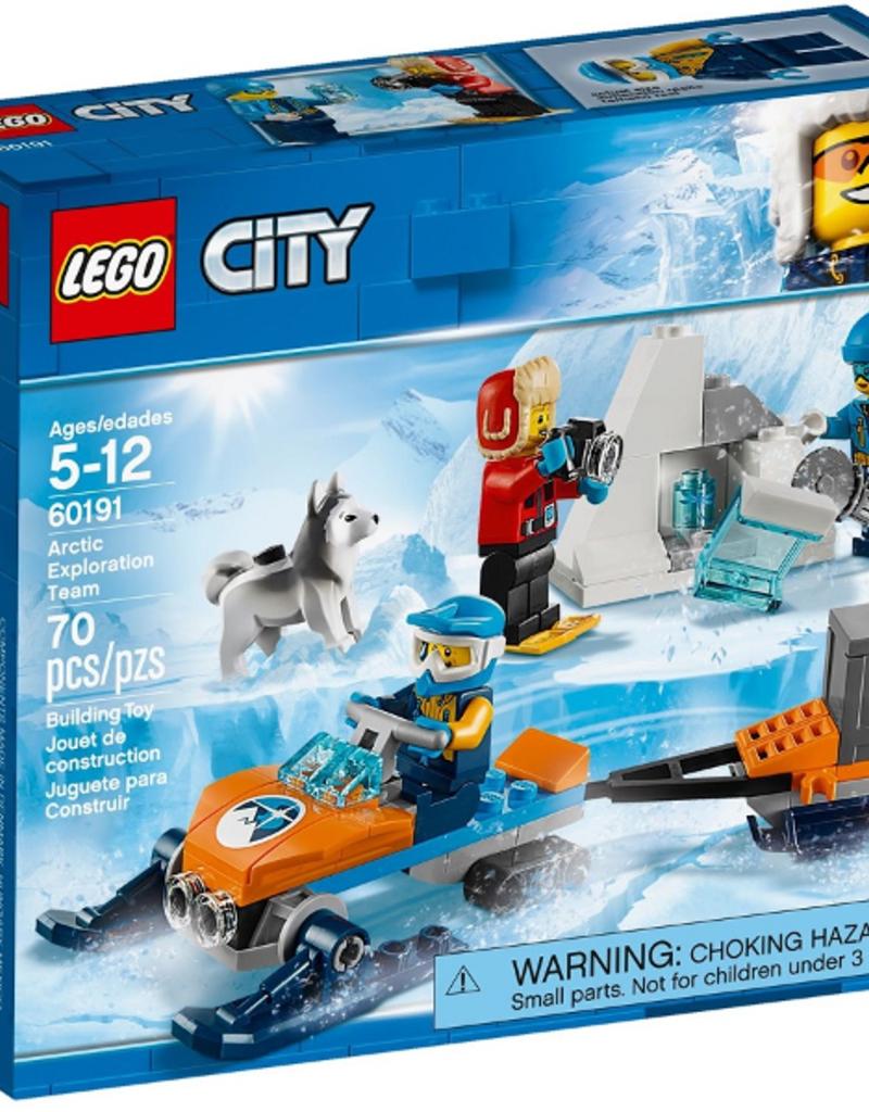 LEGO LEGO 60191 Arctic Exploration Team CITY