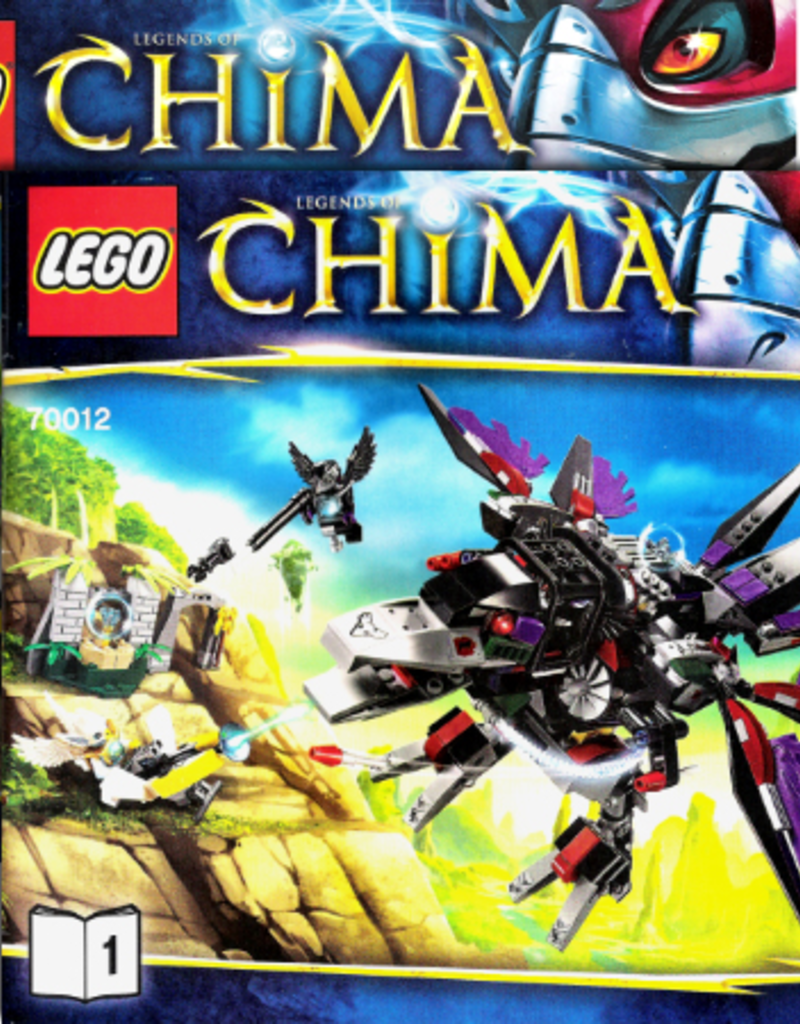LEGO LEGO 70012 Razar's CHI Raider CHIMA