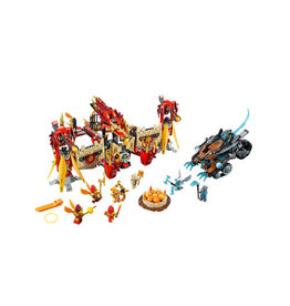 LEGO 70146 Flying Phoenix Fire Temple CHIMA