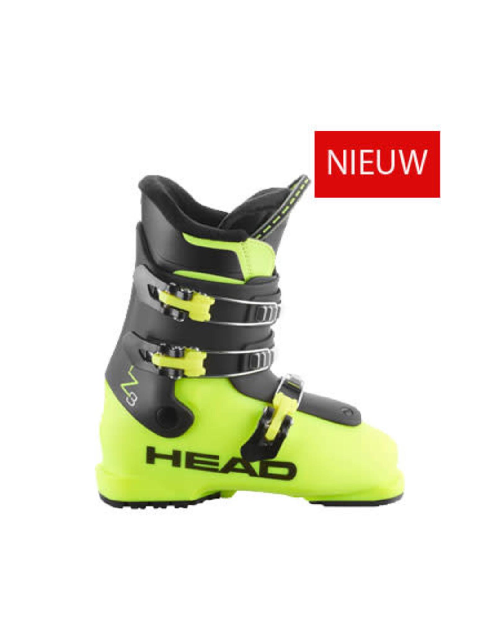 HEAD Skischoenen Head Z3 Yellow/Black NIEUW