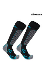 NORDICA NORDICA SKISOKKEN High Perf. Women Black/Turq 39-42