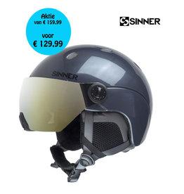 SINNER Helm Sinner Titan Visor Met.Dark Grey