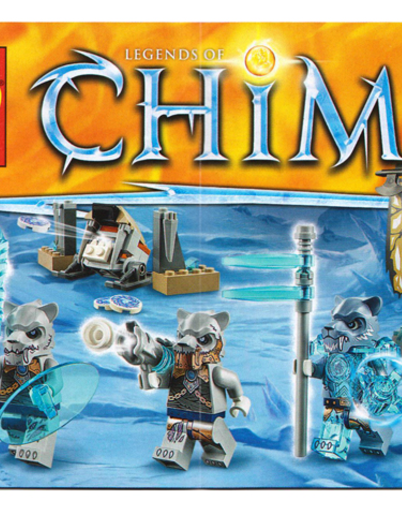 LEGO LEGO 70232 Saber-tooth Tiger Tribe Pack CHIMA