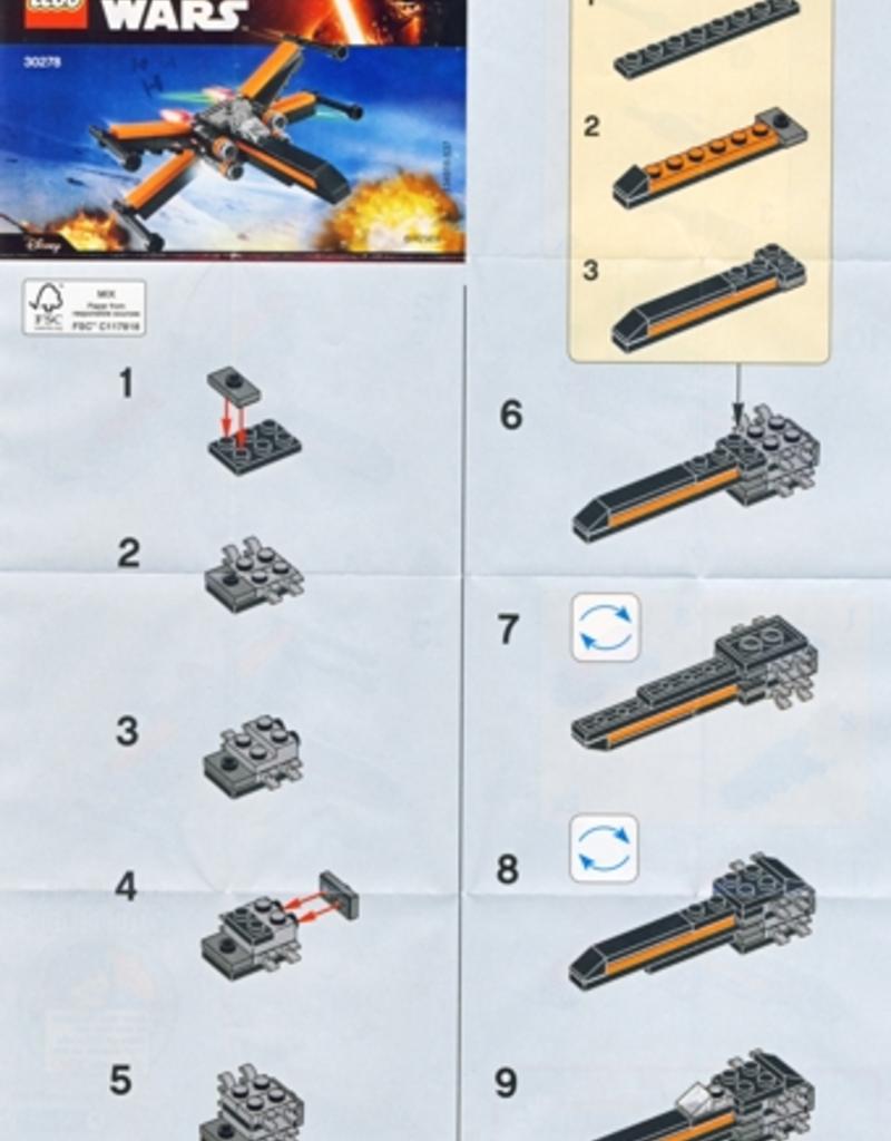 LEGO LEGO 30278 Poe's X-Wing Fighter - Mini STAR WARS