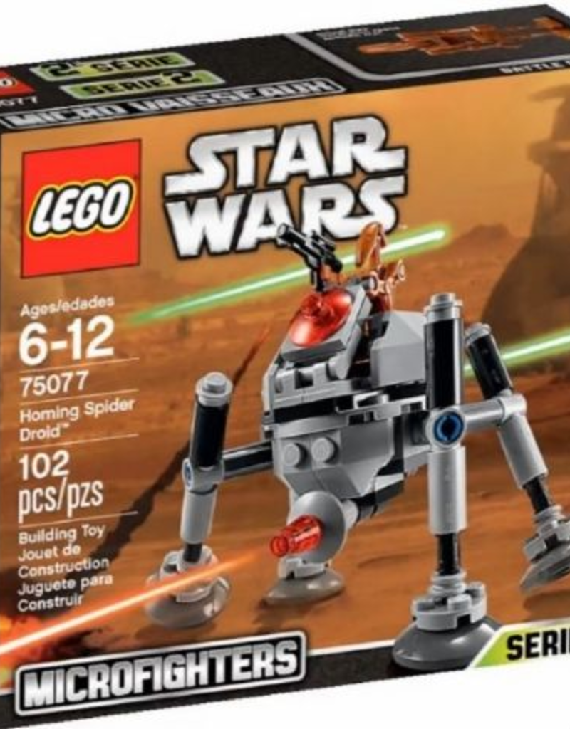 LEGO LEGO 75077 Homing Spider Droid STAR WARS