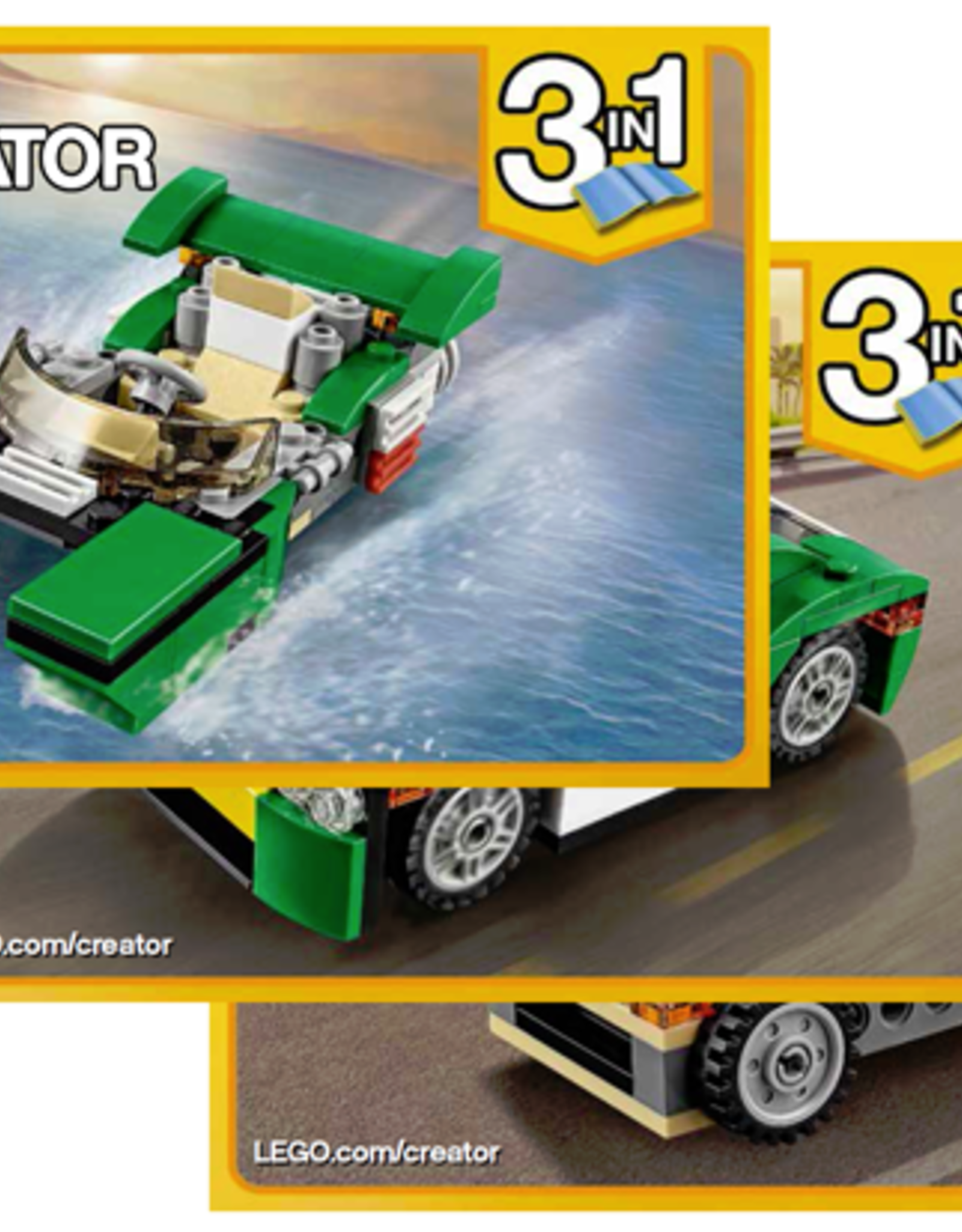 LEGO LEGO 31056 Green Cruiser CREATOR