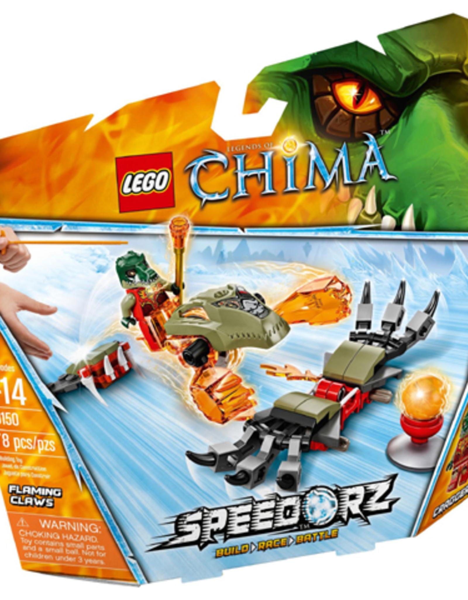 LEGO LEGO 70150 Flaming Claws CHIMA