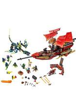 LEGO LEGO 70738 Final Flight of Destiny's Bounty NINJAGO