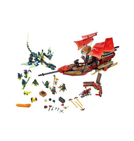 LEGO 70738 Final Flight of Destiny's Bounty NINJAGO