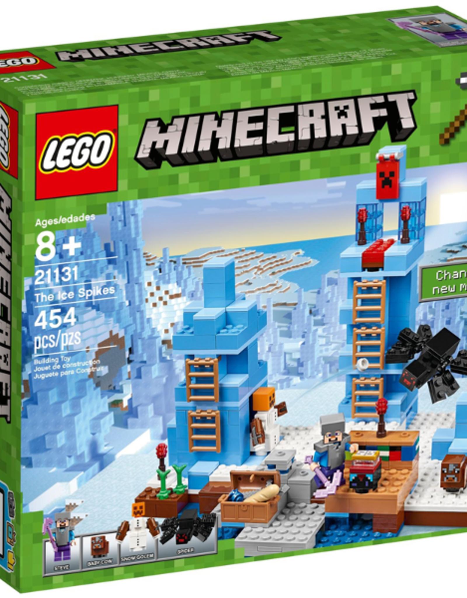LEGO LEGO 21131 The Ice Spikes MINECRAFT
